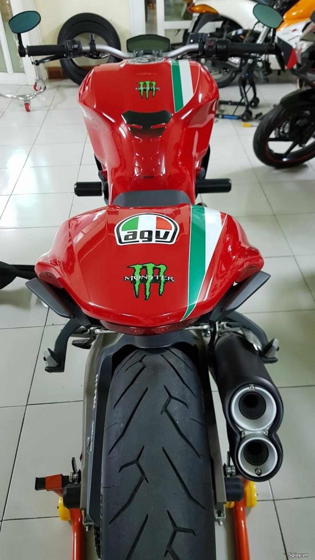 Ban Ducati Monster 821 ABS thang 52017 chinh hang Saigon so VIP - 10