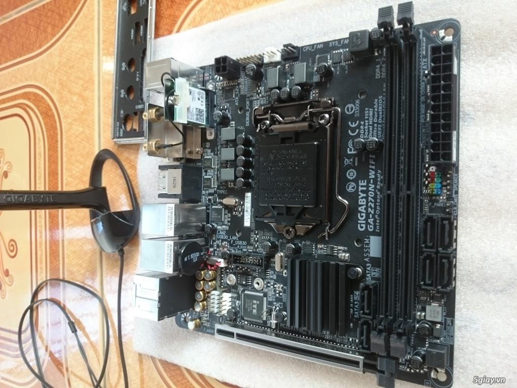 HTPC. Case, Main, tản nhiệt, ram, bàn phím, lưu điện