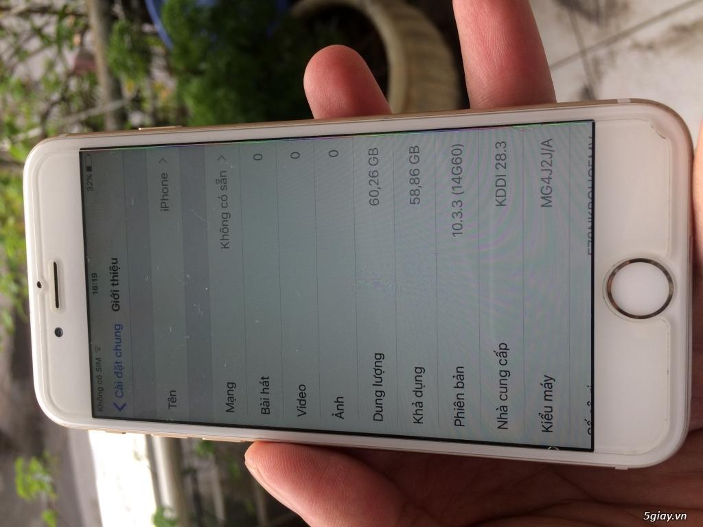 phone 6 Lock Nhật 64G Gold - 2