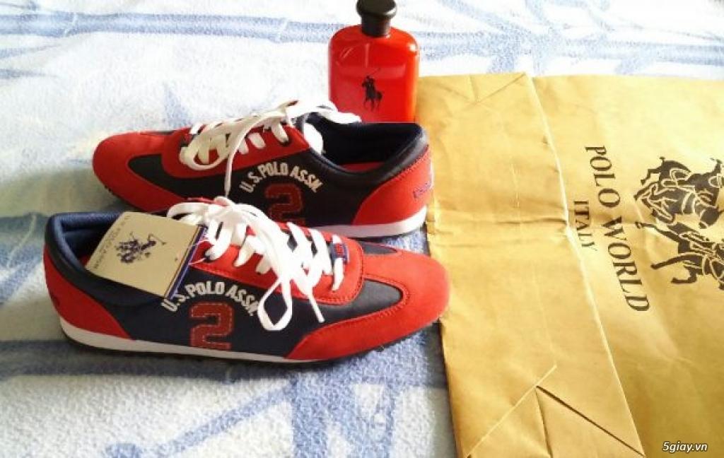 Giày Sneaker US.POLO ASSN Thanh Lý Giá Tốt