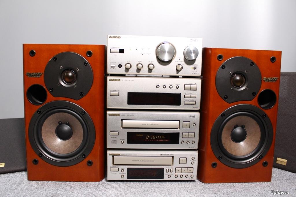 Máy nghe nhạc MINI Nhật đủ các hiệu: Denon, Onkyo, Pioneer, Sony, Sansui, Kenwood - 42