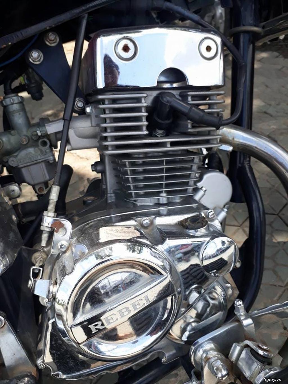 Mô tô Rebel 125cc . Xe đẹp và phong cách cổ điển. - 2