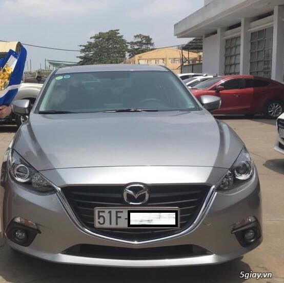 BÁN: Mazda 3 2016 Sedan, 1.5AT, xám, ODO 11000km