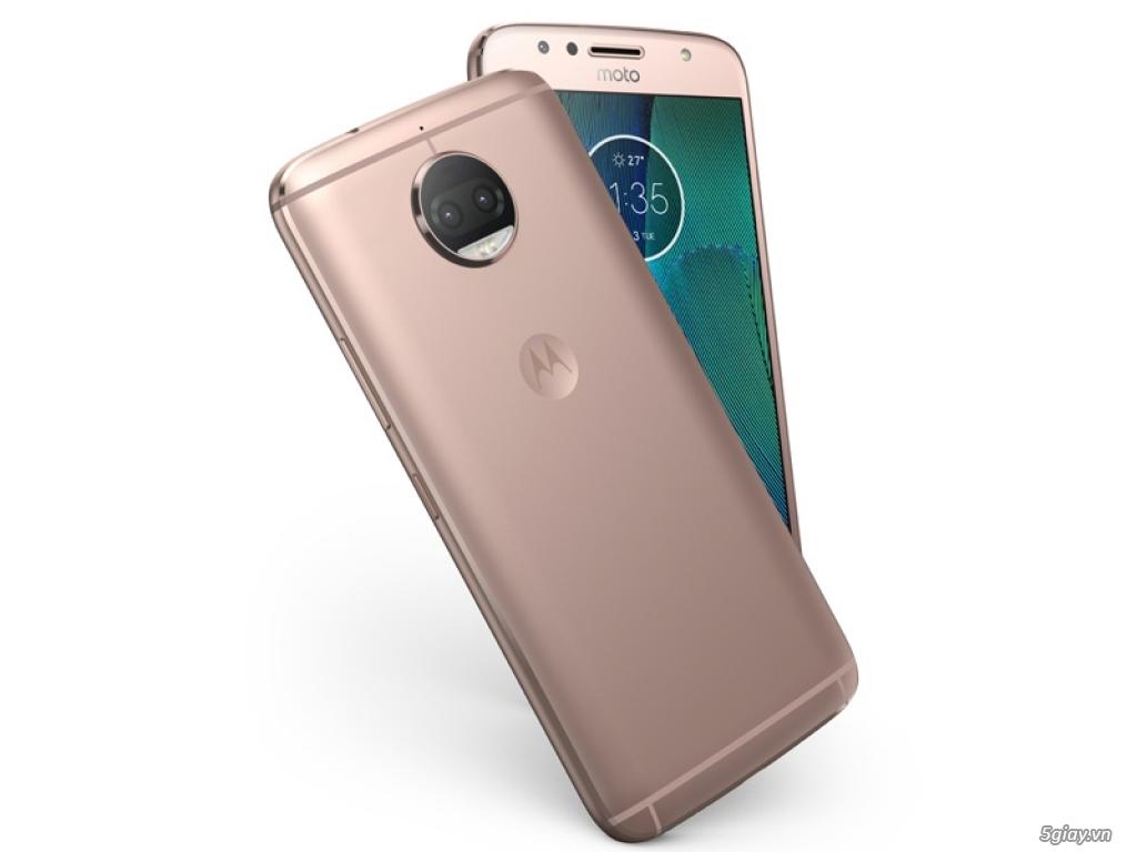 Ra mắt Motorola G5S Plus có camera kép, giá khoảng 7 triệu đồng