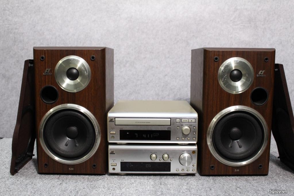 Máy nghe nhạc MINI Nhật đủ các hiệu: Denon, Onkyo, Pioneer, Sony, Sansui, Kenwood - 18