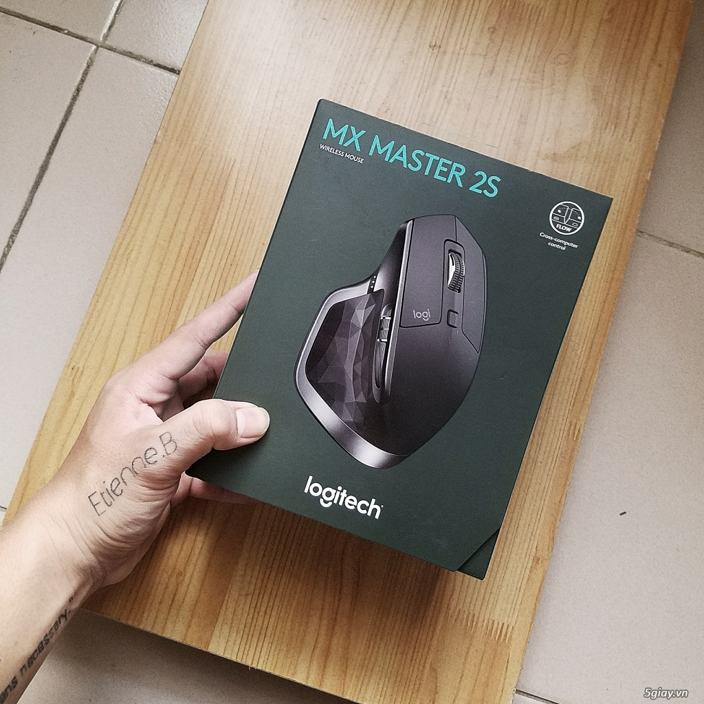Logitech MX Master 2s - TP Hồ Chí Minh - Five vn
