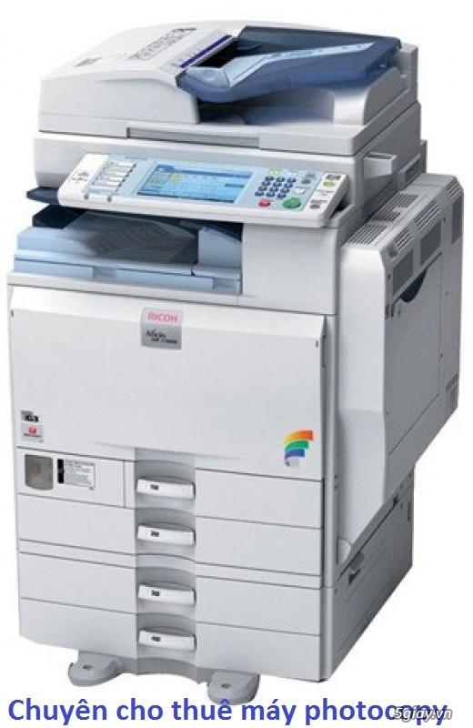 Máy photocopy cho thuê giá rẻ: 350.000đ/tháng