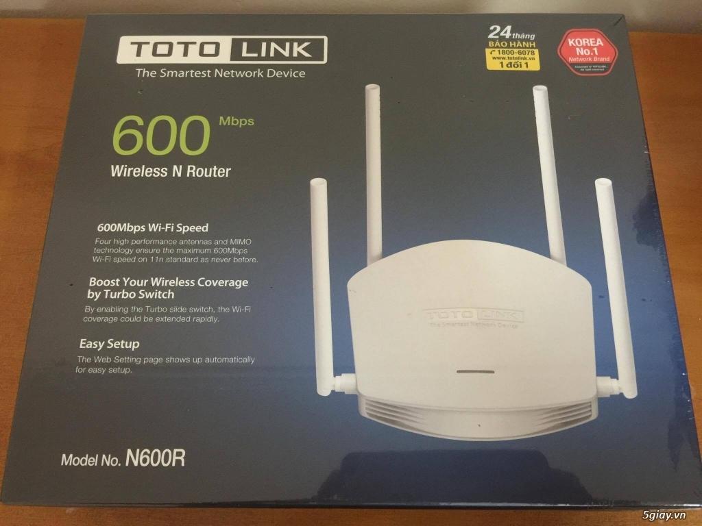 Totolink Router, Kích sóng, Switch tại miền bắc - 5