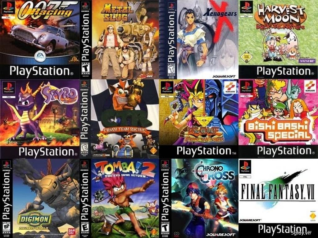 Nhận làm đĩa game PS1 !!!! - 3