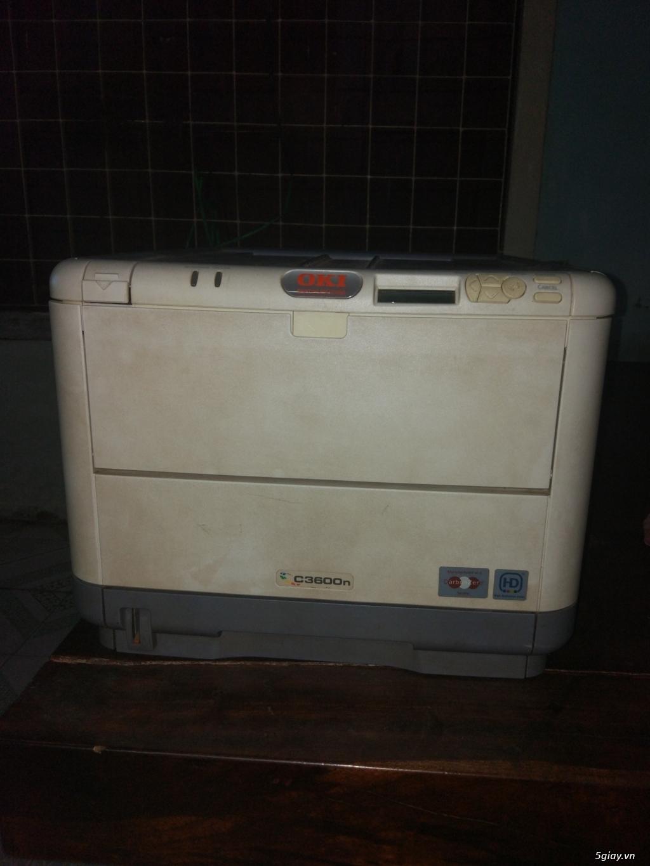 Cần bán: 1 máy in OKI c3600n