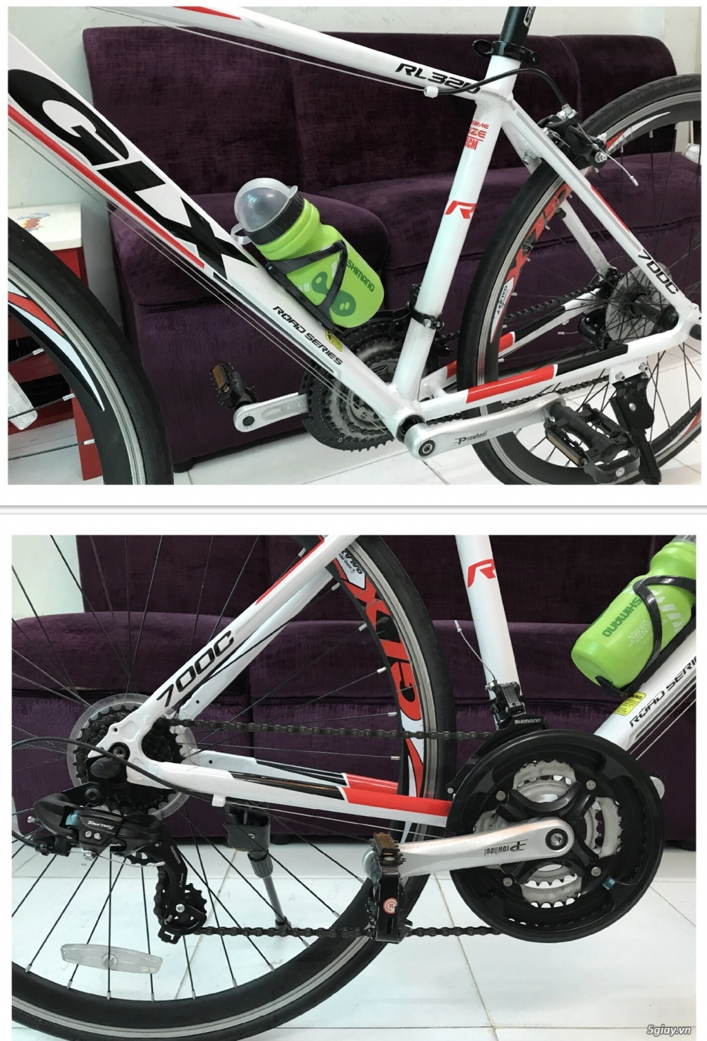 Xe đạp Galaxy RL 320 khung nhôm nhẹ, full group Shimano - 3