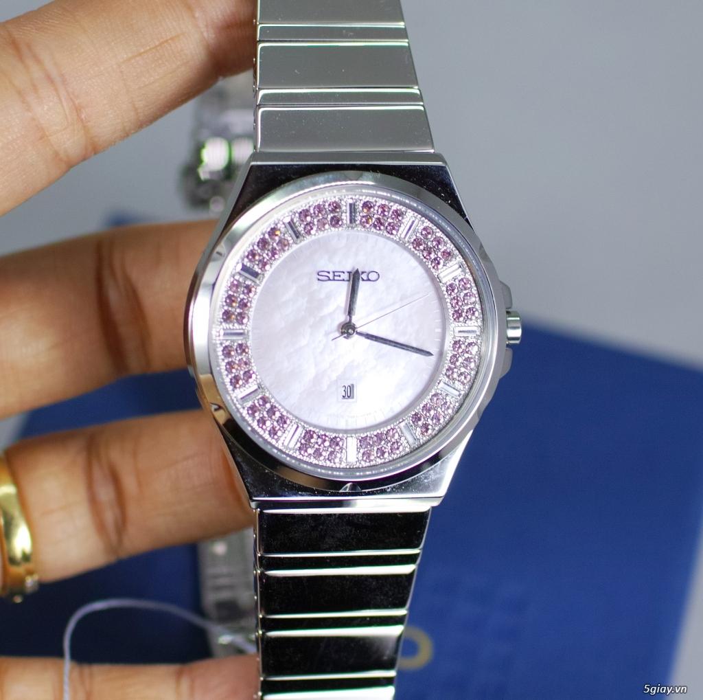 Đồng hồ nữ xách tay chính hãng Seiko,Bulova,Hamilton,MontBlanc,MK,.. - 32