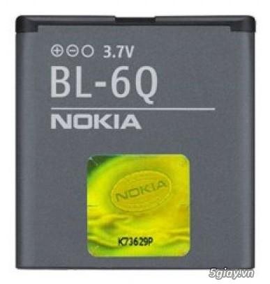 Bán Pin BL-6Q cho điện thoại Nokia 6700 classic - giá RẺ