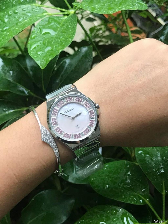 Đồng hồ nữ xách tay chính hãng Seiko,Bulova,Hamilton,MontBlanc,MK,.. - 38