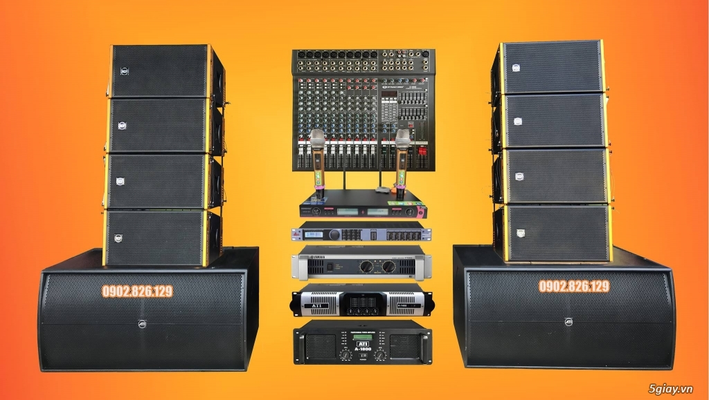 Chuyên cung cấp dàn âm thanh nhạc sống từ 20 triệu đến 100 triệu