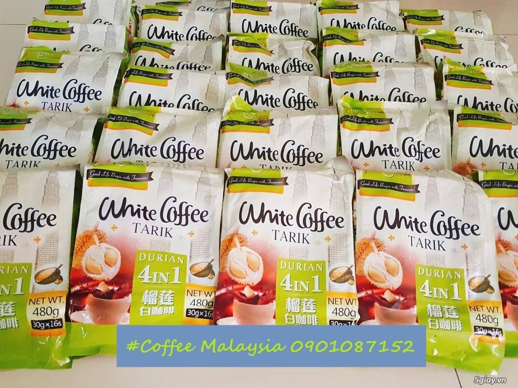 White Coffee Durian - Cà phê trắng sầu riêng 4in1