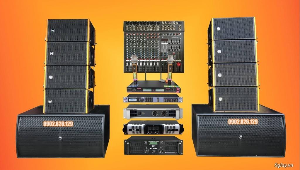 Dàn âm thanh sân khấu array B117