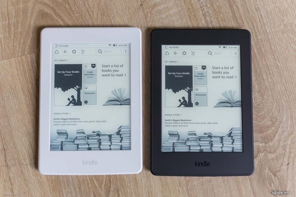 Máy đọc sách Kindle Paperwhite wifi 4Gb có đèn nền - 31