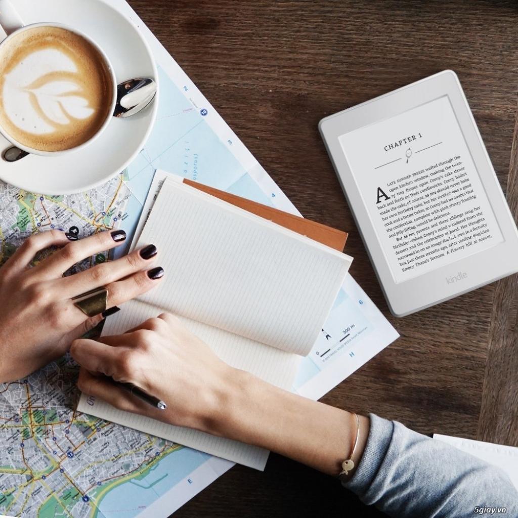 Máy đọc sách Kindle Paperwhite wifi 4Gb có đèn nền - 27