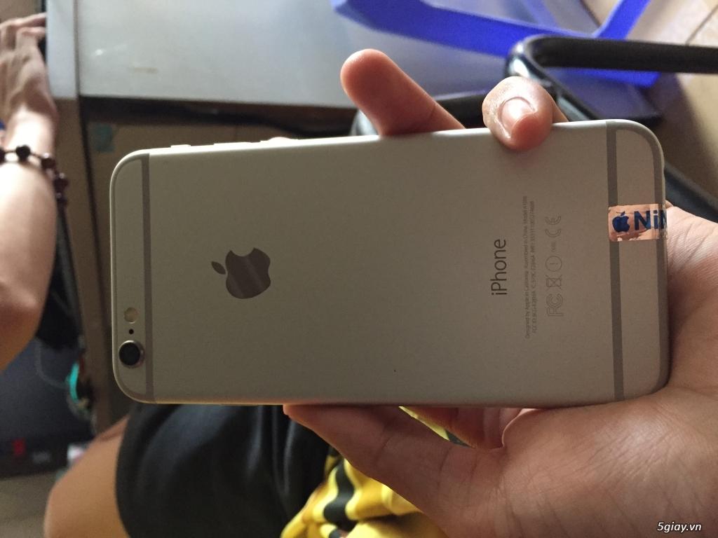 Apple Iphone 6 16 GB TRẮNG máy lock 16gb - 3