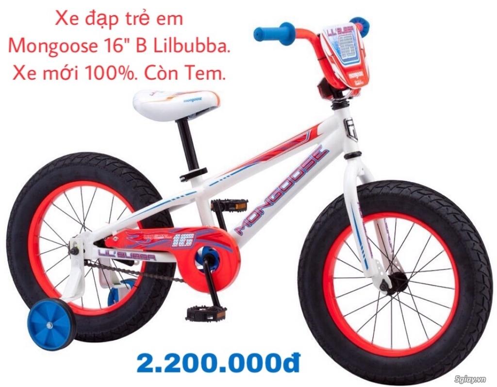 Xe đạp trẻ em và người lớn xách tay từ Mỹ đủ kiểu đủ size