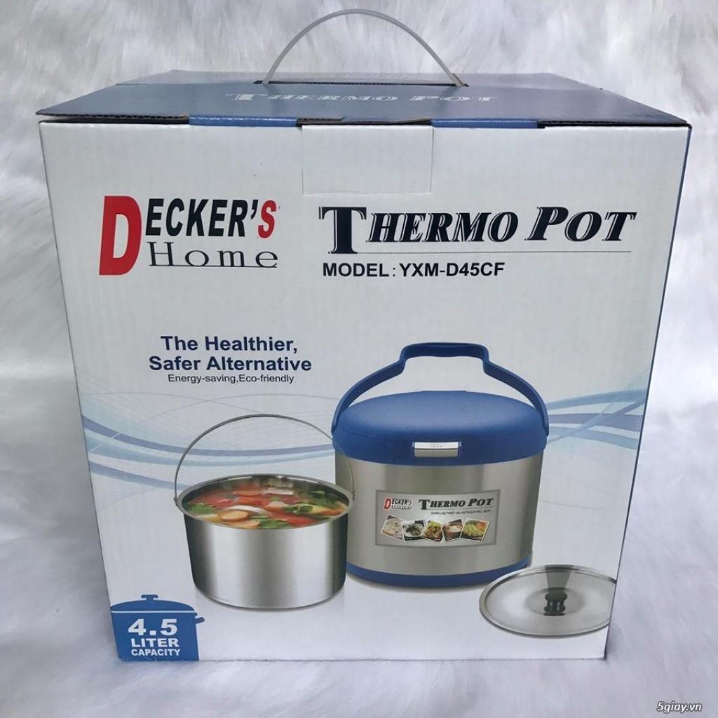 Nồi ủ-hầm Đa năng Decker's Home-Homemax-Khaluck-Tiger giá Sỉ-Lẻ - 9