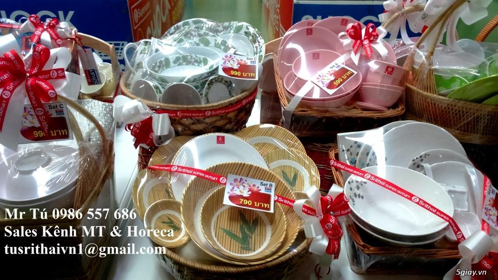 Tô Chén Đĩa Nhựa Phíp Thái Lan Superware - 5