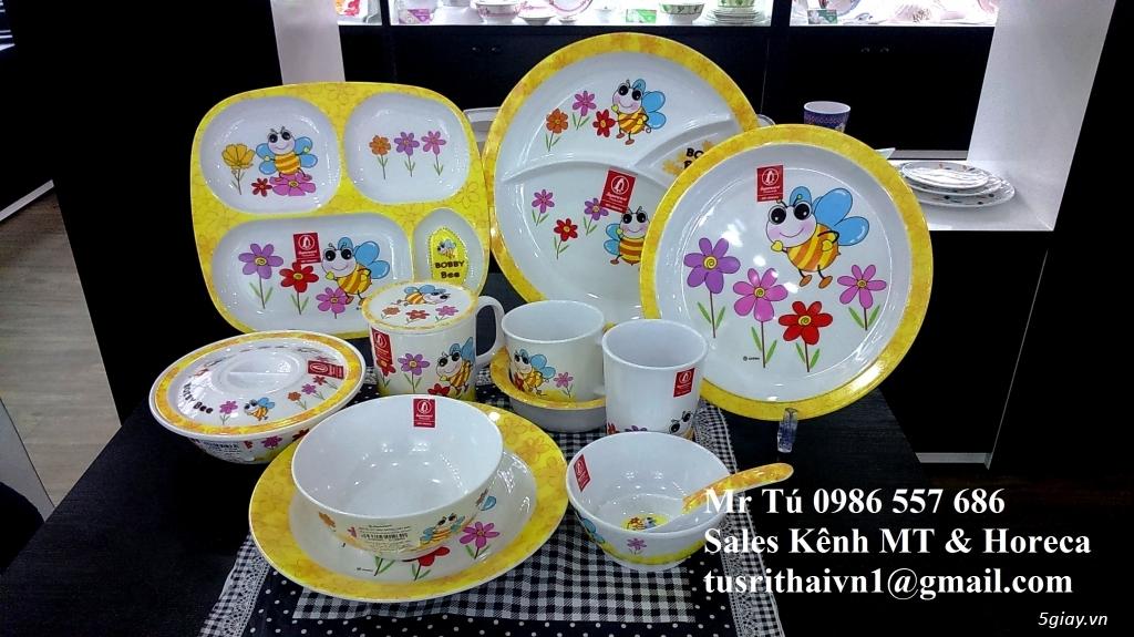 Tô Chén Đĩa Nhựa Phíp Thái Lan Superware - 13