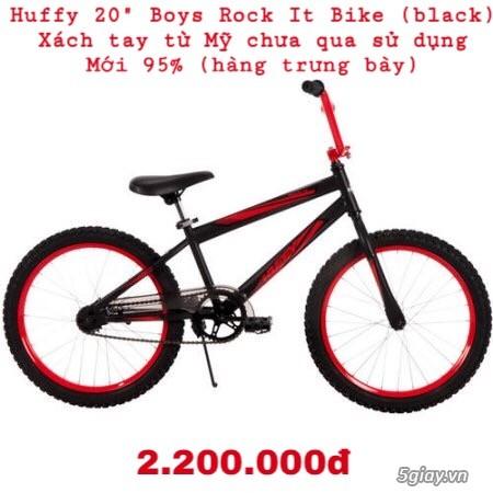 Xe đạp Huffy 20 Boys Rock It Bike (black) xách tay từ Mỹ
