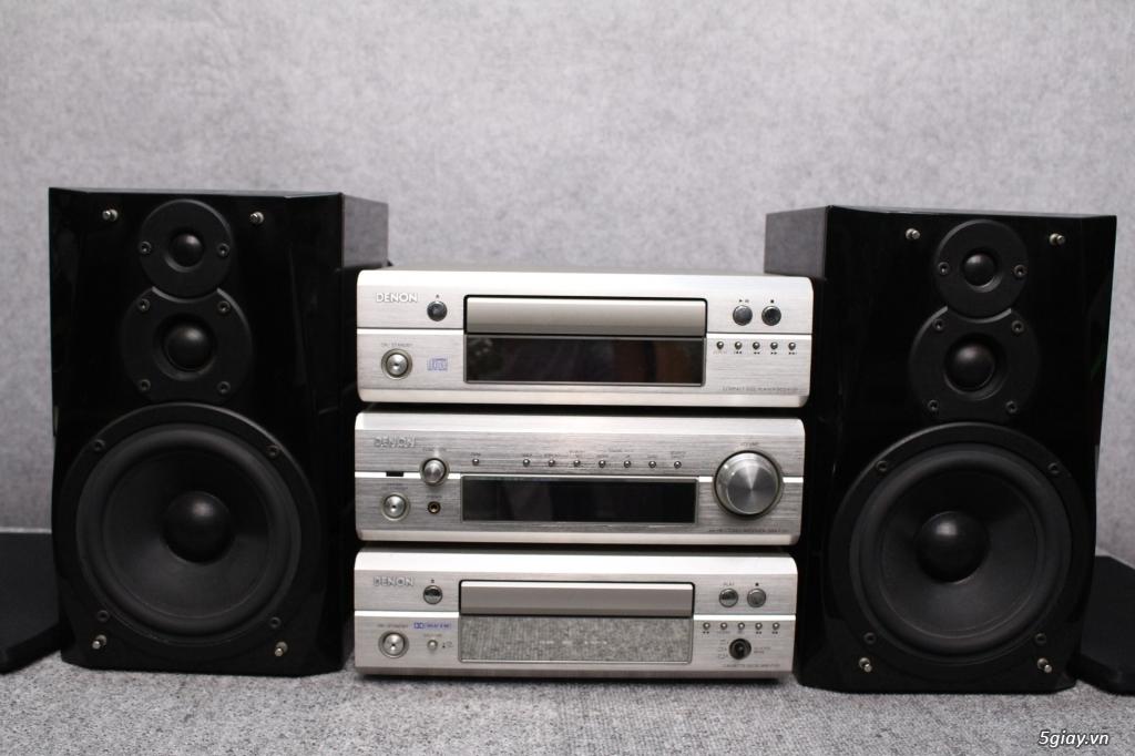 Máy nghe nhạc MINI Nhật đủ các hiệu: Denon, Onkyo, Pioneer, Sony, Sansui, Kenwood