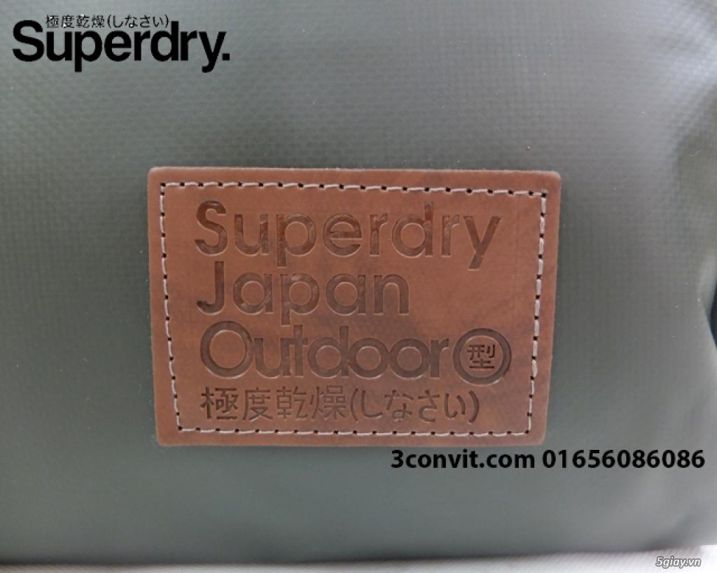 Balo Superdry Deluxe Tarpaulin Backpack Grey new 100%, giá rẻ - 6