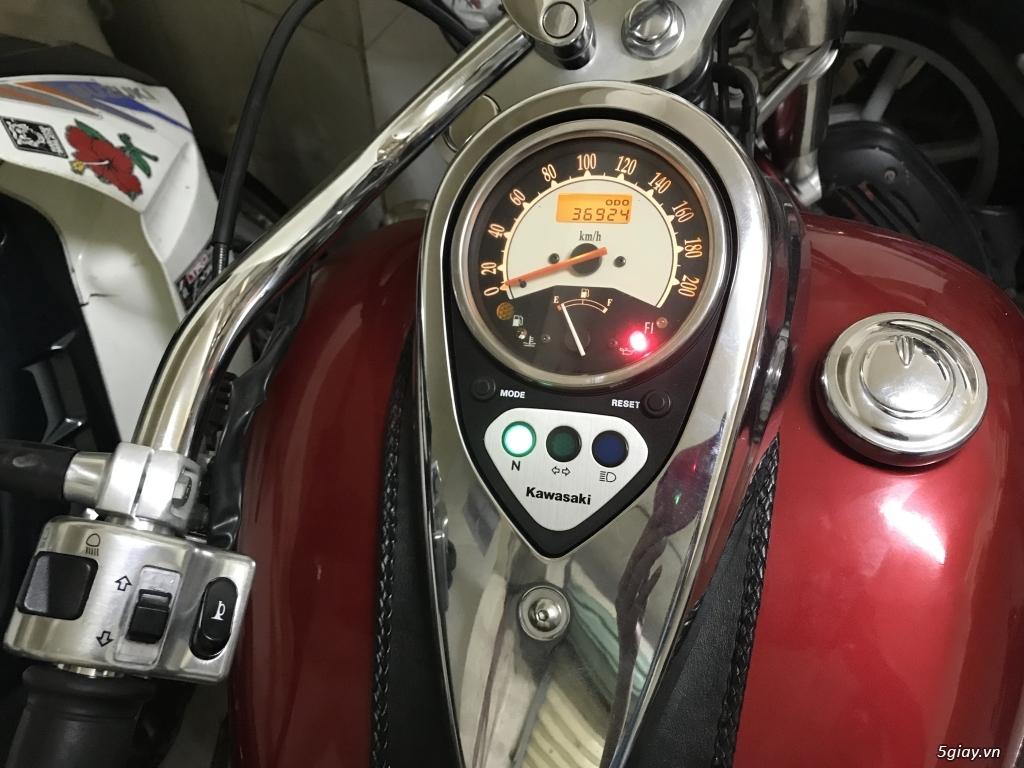 Kawasaki Vulcan Fi điện tử 900 cc siêu đẹp