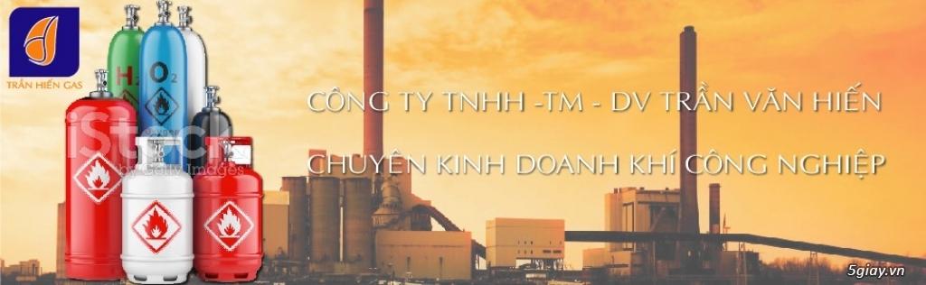 Chuyên kinh doanh khí công nghiệp ( Oxy y tế, Ar, Nitơ, Co², Acetylen ... )