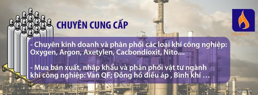 Chuyên kinh doanh khí công nghiệp ( Oxy y tế, Ar, Nitơ, Co², Acetylen ... ) - 1