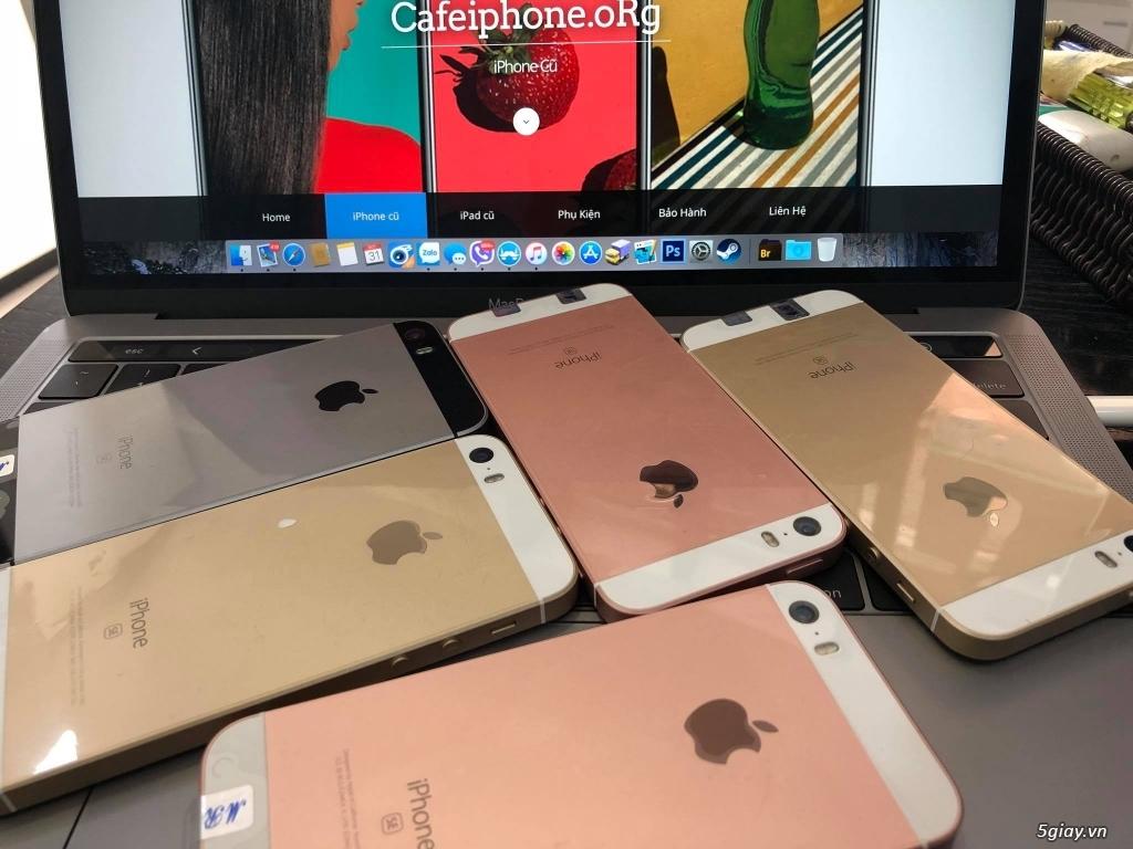 iPhone SE 64GB máy mỹ new 100% active rồi - bao test 7 ngày tẹt ga!!!
