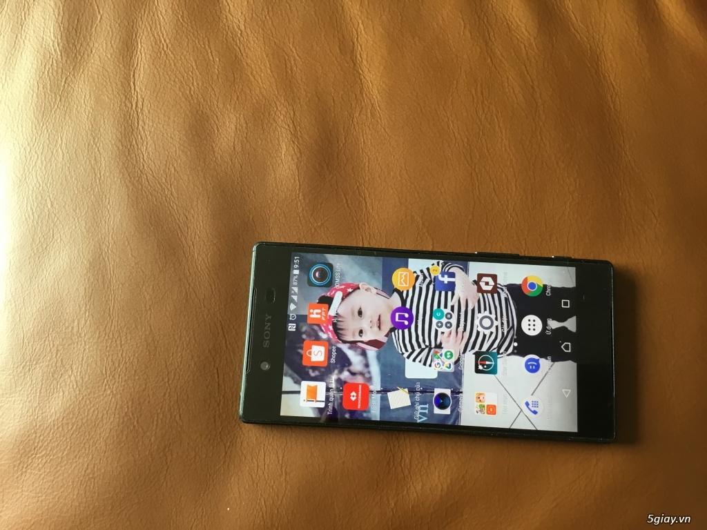 Bán Sony Z5 DUal xanh(32GB, RAM: 3 GB Camera 23 MP) chính hãng Fullbox
