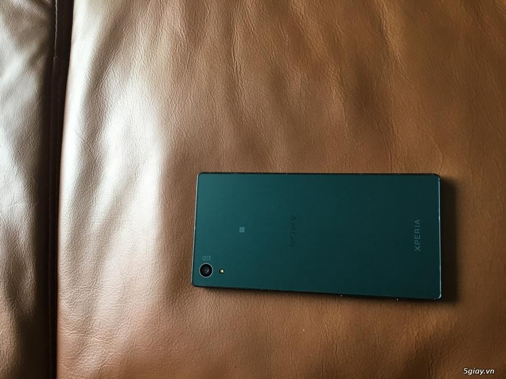 Bán Sony Z5 DUal xanh(32GB, RAM: 3 GB Camera 23 MP) chính hãng Fullbox - 1