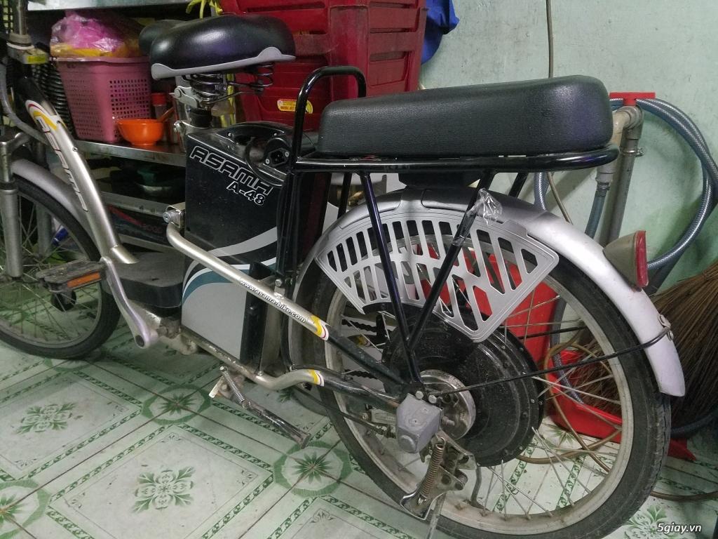 Xe đạp điện Asama, nữ đi, ít xài cần bán - 1