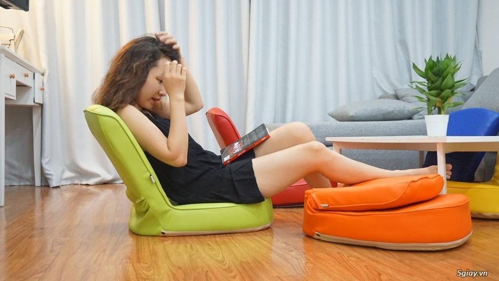 Ghế ngồi bệt tatami, khung thép, nhiều màu sắc ,thư giãn đọc sách - 1