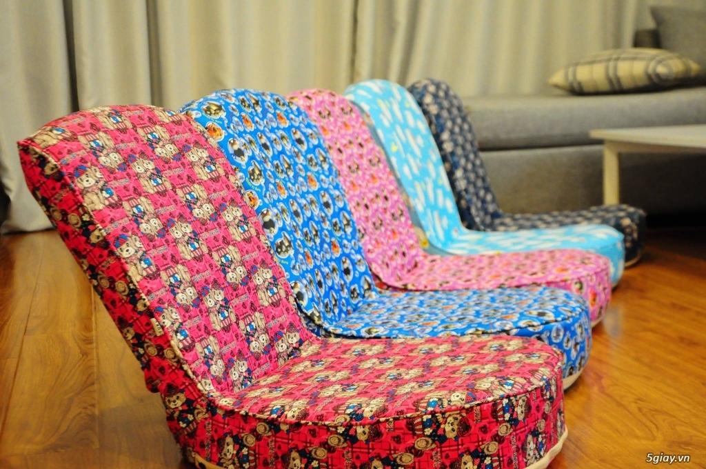 Ghế ngồi bệt tatami, khung thép, nhiều màu sắc ,thư giãn đọc sách - 11