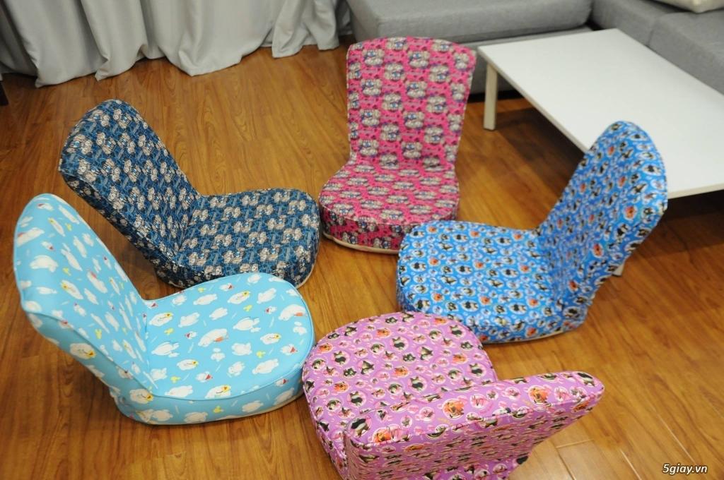 Ghế ngồi bệt tatami, khung thép, nhiều màu sắc ,thư giãn đọc sách - 10