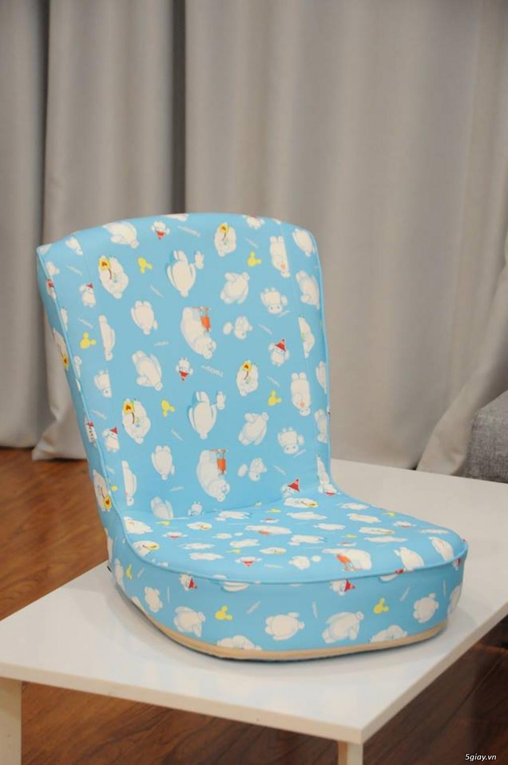 Ghế ngồi bệt tatami, khung thép, nhiều màu sắc ,thư giãn đọc sách - 8