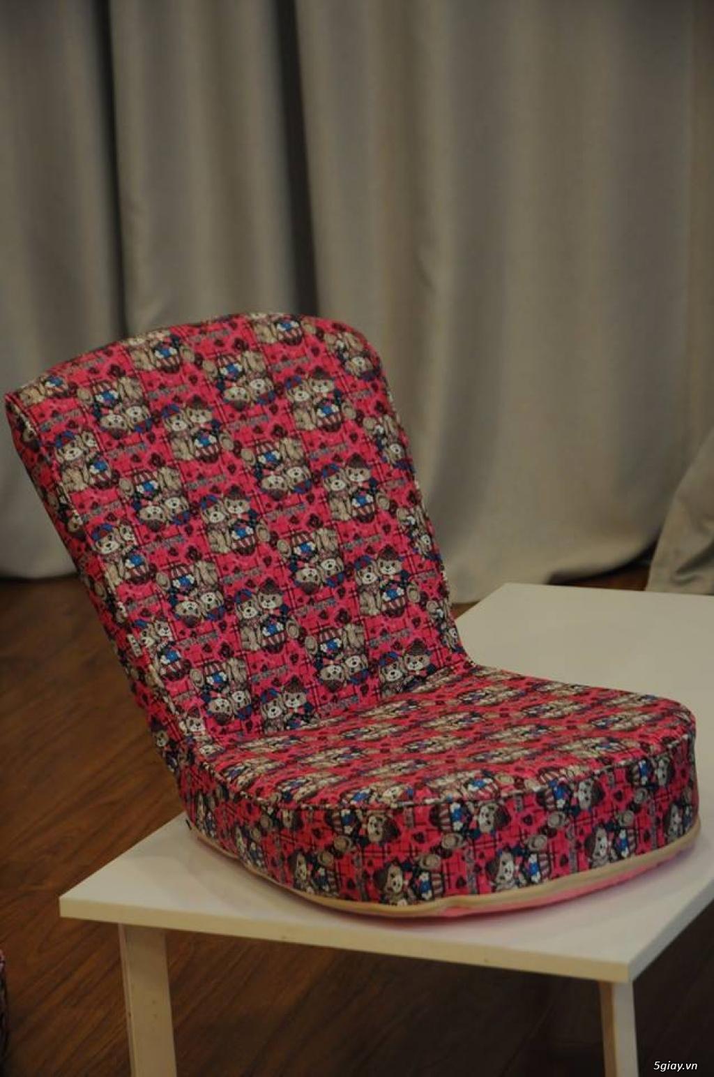 Ghế ngồi bệt tatami, khung thép, nhiều màu sắc ,thư giãn đọc sách - 6