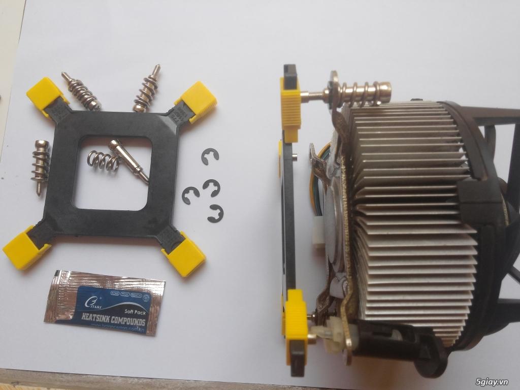 Hub Fan PWM, Backplate AMD 115x,775,1366clip 2011 gông, Ốc Đồ Mod Case - 2