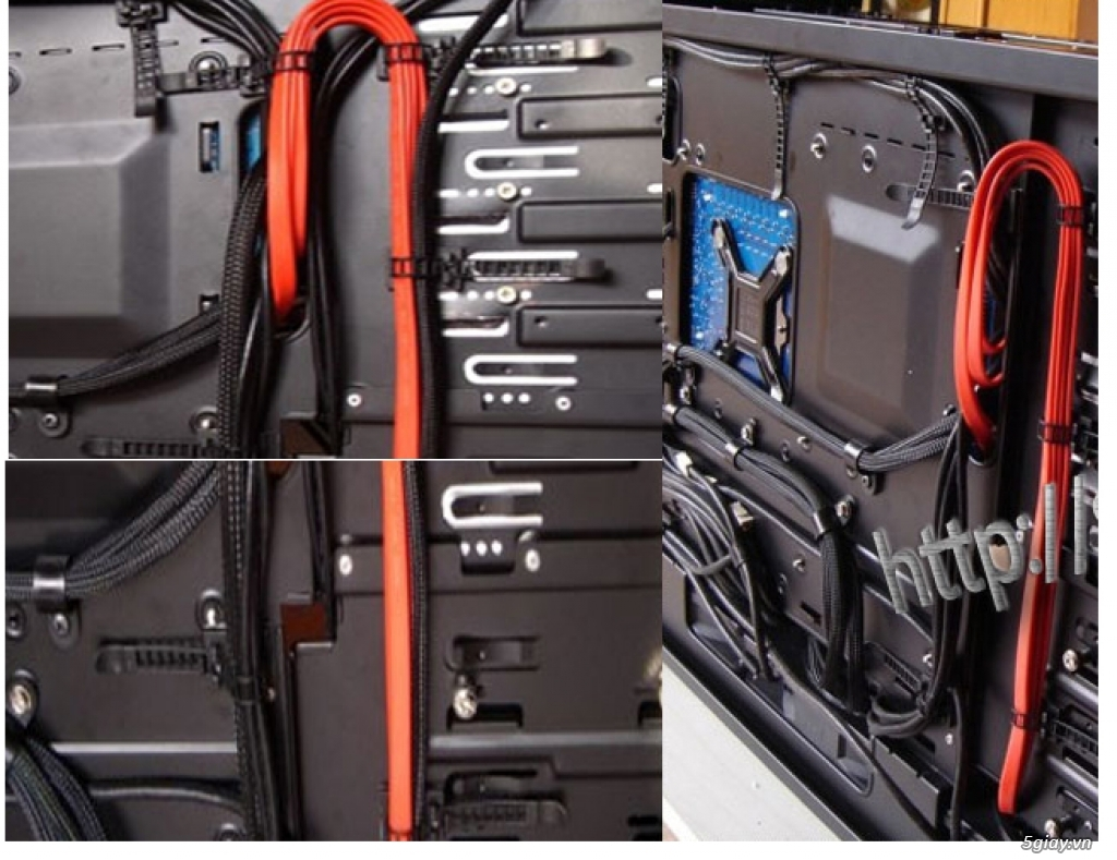 Hub Fan PWM, Backplate AMD 115x,775,1366clip 2011 gông, Ốc Đồ Mod Case - 11