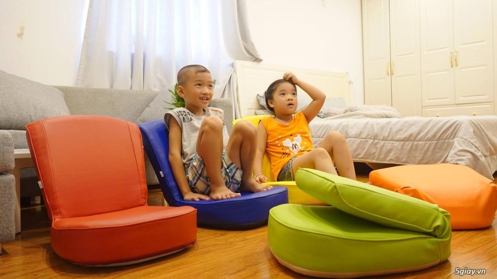 Ghế ngồi bệt tatami, khung thép, nhiều màu sắc ,thư giãn đọc sách - 3