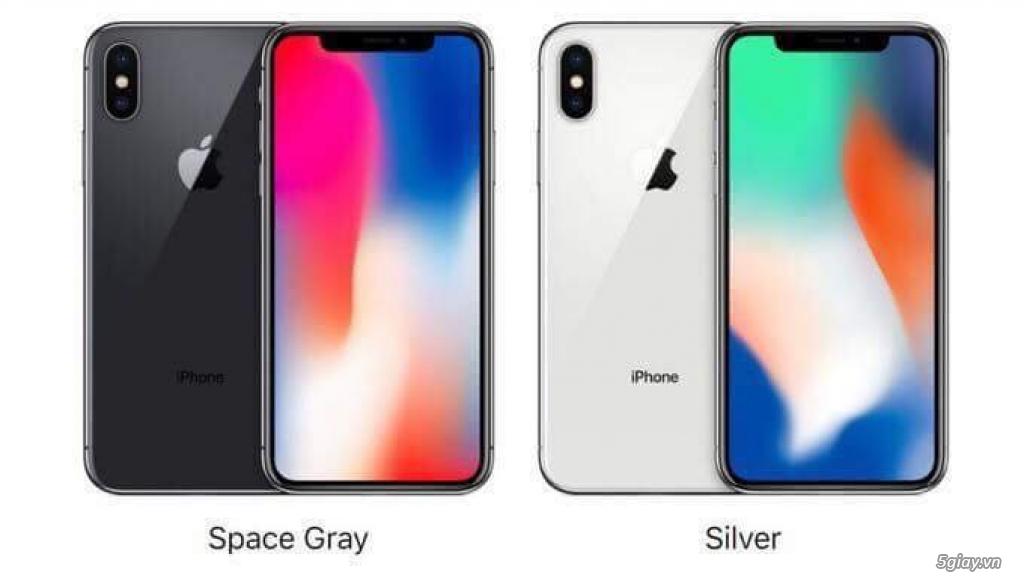 5 MÁY IPHONE X-256GB HÀNG SING CÓ SẴN CHIỀU 17H TẠI HỒ CHÍ MINH - 2