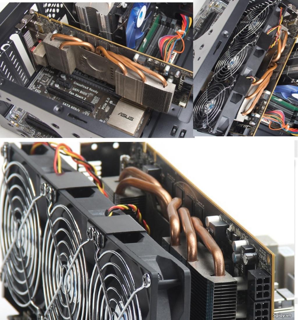 Hub Fan PWM, Backplate AMD 115x,775,1366clip 2011 gông, Ốc Đồ Mod Case - 6