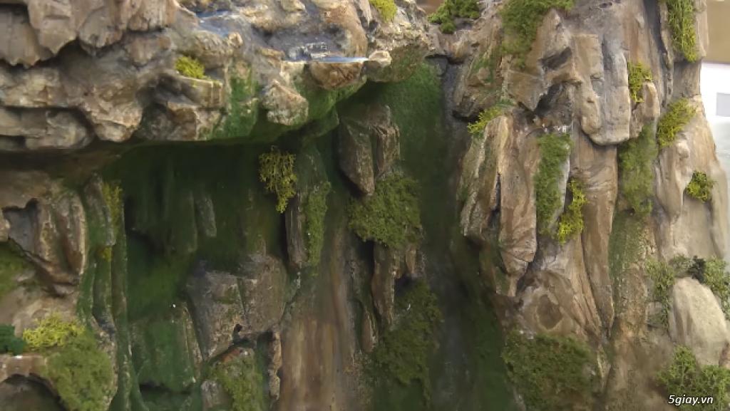 Cách làm mô hình thác nước vô cùng độc đáo - 210610