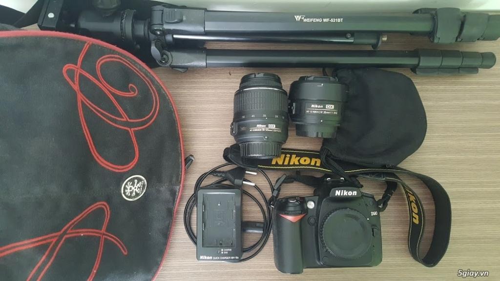 Nikon D90 len 18_55VR len 35 f1.8